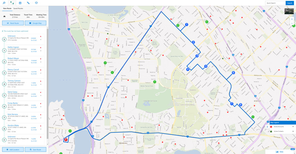 Route Optimisation